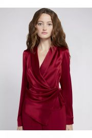 Aurora Mock Wrap Top at Orchard Mile