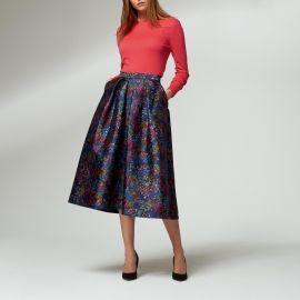 Aurorie Floral Print Skirt by L.K. Bennett at L.K. Bennett