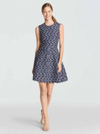 Austin Jacquard Dress at Draper James
