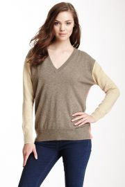 Autumn Cashmere Colorblock Sweater at Nordstrom Rack