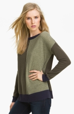 Autumn Cashmere colorblock sweater on HIMYM at Nordstrom