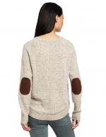 Autumn Cashmere elbow patch sweater at Amazon