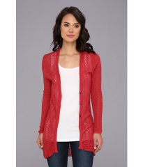Aventura Clothing Juliette Sweater Mineral Red at Zappos