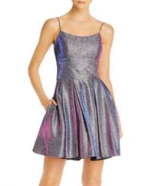 Avery G Galaxy Glitter Cocktail Dress Women - Bloomingdale s at Bloomingdales