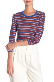 Avery Striped Long Sleeve Top at Nordstrom Rack