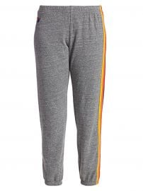 Aviator Nation - Five Stripe Sweatpants at Saks Fifth Avenue
