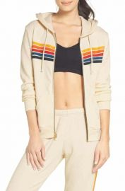 Aviator Nation 5-Stripe Zip Hoodie   Nordstrom at Nordstrom