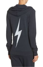 Aviator Nation Bolt Zip Hoodie back at Nordstrom