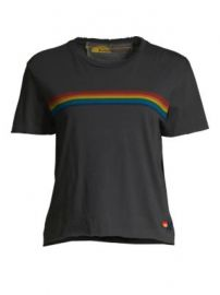 Aviator Nation - Sunset Rainbow Tee at Saks Fifth Avenue
