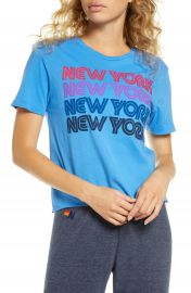 Aviator Nation New York Repeat Graphic Boyfriend Tee   Nordstrom at Nordstrom