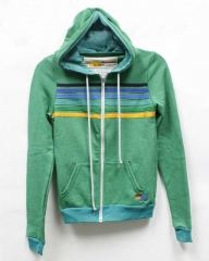 Aviator Nation Striped Hoodie at Uscodeshop