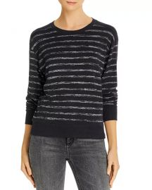 Avryl Striped Sweater at Bloomingdales