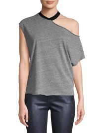 Axel Cutout Ringer Tee at Saks Off Fifth