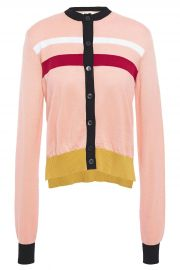 Azalea Color-Block Cardigan by Marni at The Outnet
