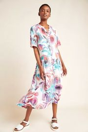 Azores Maxi Dress at Anthropologie