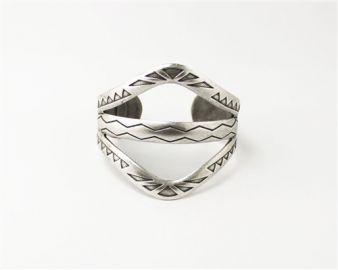 Aztec Cuff at Nissa Jewelry