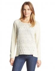Aztec print sweater by Democracy at Amazon