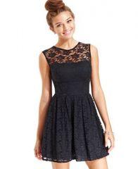 B Darlin Lace Dress at Macys
