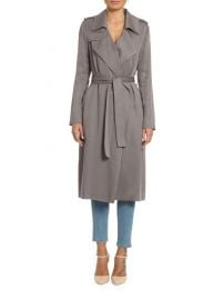 BADGLEY MISCHKA - ANGELINA SOLID TRENCH COAT at Saks Off 5th