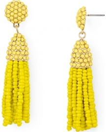 BAUBLEBAR Mini Pi ata Tassel Drop Earrings in Yellow at Bloomingdales