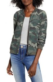 BB Dakota Can\'t See Me Camo Bomber Jacket at Nordstrom