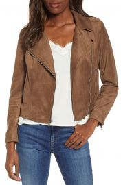 BB Dakota Not Your Baby Faux Suede Moto Jacket   Nordstrom at Nordstrom