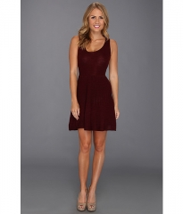 BB Dakota Adison Dress Burgundy at 6pm