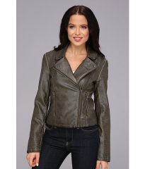 BB Dakota Dita Jacket Olive at Zappos
