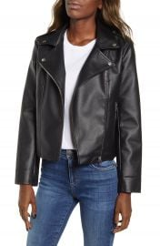 BB Dakota Faux Leather Moto Jacket   Nordstrom at Nordstrom