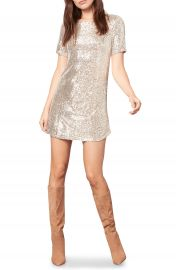BB Dakota Hit the Lights Sequin Knit Shift Dress   Nordstrom at Nordstrom