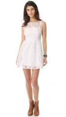 BB Dakota Huela Organza Embroidered Dress at Shopbop