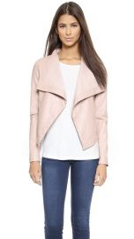 BB Dakota Lillian Drapey Front Jacket at Shopbop