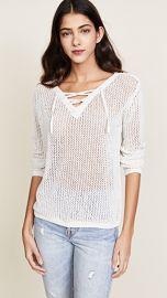 BB Dakota Lily Lace Up Sweater at Shopbop