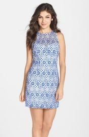 BB Dakota and39Charlotteand39 Embroidered Lace Sheath Dress at Nordstrom