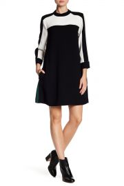 BCBG MAXAZRIA   Colorblock Dress   Nordstrom Rack at Nordstrom Rack