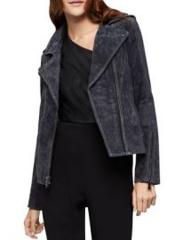 BCBGENERATION Peplum Suede Moto Jacket Women - Bloomingdale s at Bloomingdales