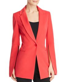 BCBGMAXAZRIA Gia Slit-Sleeve Blazer in Red at Bloomingdales