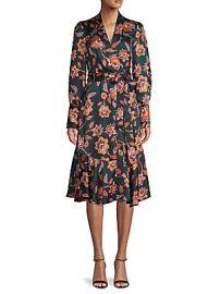 BCBGMAXAZRIA - Floral Wrap Dress at Saks Off 5th