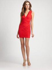 BCBGMAXAZRIA - Ruched Dress at Saks Fifth Avenue