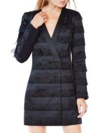 BCBGMAXAZRIA Anika Fringe Jacket Dress at Bloomingdales