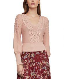 BCBGMAXAZRIA Bishop-Sleeve Sweater   Reviews - BCBGMAXAZRIA - Women - Macy s at Macys