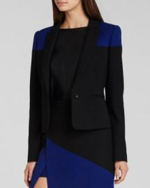 BCBGMAXAZRIA Blazer - Oscar Color Block at Bloomingdales