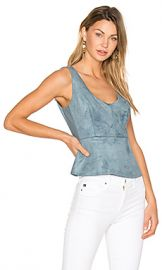 BCBGMAXAZRIA Cladiana Tank in Light Ash Blue from Revolve com at Revolve
