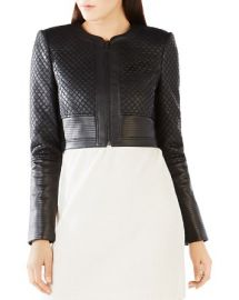 BCBGMAXAZRIA Cohen Faux Leather Jacket at Bloomingdales