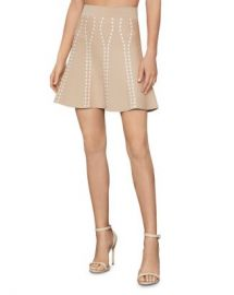 BCBGMAXAZRIA Ingrid Textured Jacquard Mini Skirt Women - Bloomingdale s at Bloomingdales