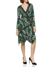 BCBGMAXAZRIA Isabella Handkerchief-Hem Wrap Dress   Women - Bloomingdale s at Bloomingdales