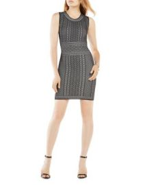 BCBGMAXAZRIA Jose Geometric Pattern Dress at Bloomingdales
