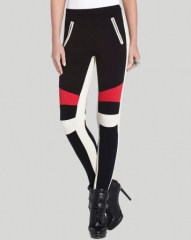 BCBGMAXAZRIA Leggings - Bond Color Block at Bloomingdales