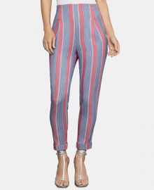 BCBGMAXAZRIA Striped Ankle Pants   Reviews - BCBGMAXAZRIA - Women - Macy s at Macys