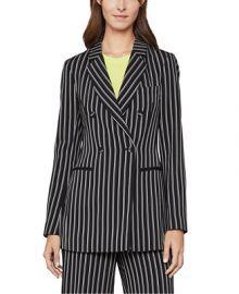 BCBGMAXAZRIA Striped Blazer   Reviews - BCBGMAXAZRIA - Women - Macy s at Macys